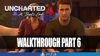 getlinkyoutube.com-Uncharted 4: A Thief's End Gameplay Walkthrough Part 6 | No Commentary