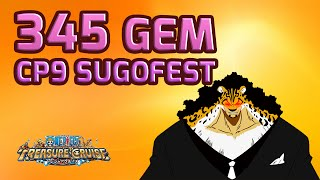 getlinkyoutube.com-345 Gem CP9 Sugofest! Strong World Ace In The House! [One Piece Treasure Cruise]