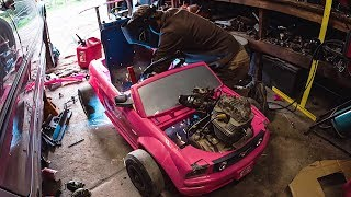 Building the Power Wheels Go Kart - Raw Time Lapse width=