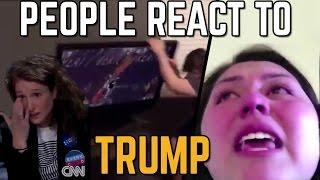 People React To Donald Trump Victory [SJW MELTDOWN]