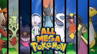 getlinkyoutube.com-Pokemon X and Y - ALL MEGA EVOLUTIONS!