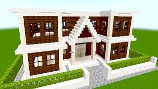getlinkyoutube.com-【マインクラフト】初心者でもできる簡単な家の作り方