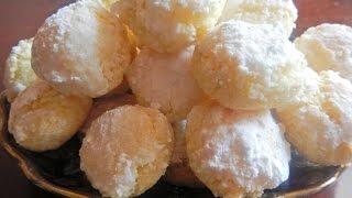 getlinkyoutube.com-حلويات سهلة : غريبة الكوك و السميدة مع طبخ ليلى ghriba , halawiyat
