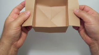 getlinkyoutube.com-كيف تحول ورقه الى وعاء مذهل ?