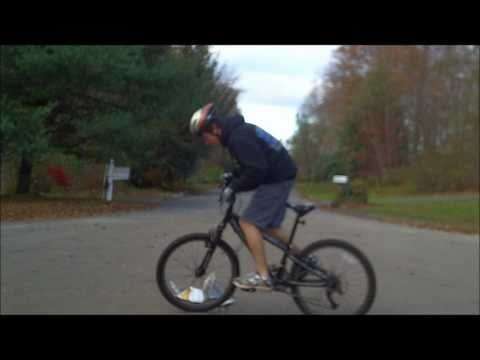 Practicing Beginner MTB Tricks - Wheelie, Endo, Bunny Hop
