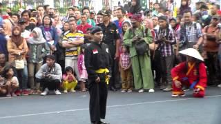 Silat Jawa Timuran, Pawai Jambore Pencak Silat Nasional Yogyakarta 2015