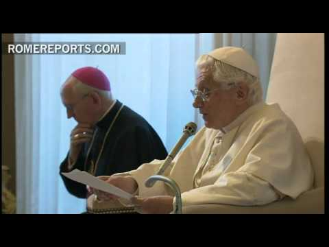 Pope meets with a group of American Bishops  addresses sex abuse crisis  secularization and  the New Evangelization