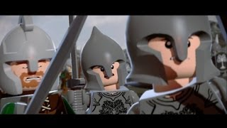 getlinkyoutube.com-LEGO Lord of the Rings Walkthrough Part 17 - The Black Gate