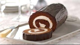 getlinkyoutube.com-Gâteau roulé au chocolat