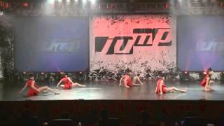 getlinkyoutube.com-ALDC Junior Group - Red With Envy Jump Dance Convention 2/15/14 Nia Kalani Maddie Kendall Mackenzie