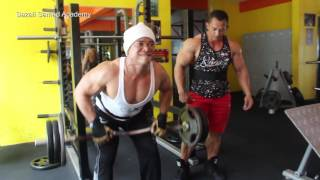 getlinkyoutube.com-Sazali Samad Back workout part 1