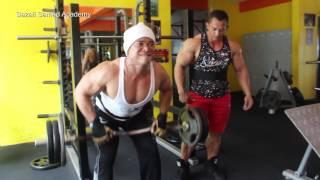 Sazali Samad Back workout part 1