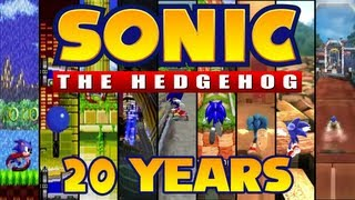 Sonic the Hedgehog: Speeding Through 20 Years of History