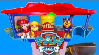 getlinkyoutube.com-PAW PATROL Parody Play-Doh Slime NICKELODEON [Paw Patrol Look Out Station] Video by EpicToyChannel