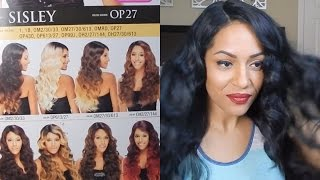 "getlinkyoutube.com-Freetress Equal ""Sisley"" Synthetic Lace Front Wig Review & Aftercare"