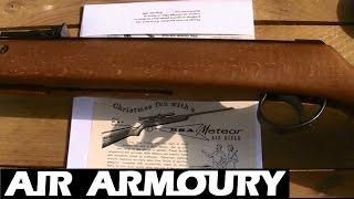 BSA Meteor / Super Meteor Air Rifle Review   Air Armoury