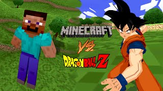 getlinkyoutube.com-Minecraft meets DBZ! Steve vs Goku | DBZ Tenkaichi 3 (MOD)