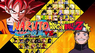 getlinkyoutube.com-Dragon Ball Z vs Naruto Mugen Edition 1.0 by Ristar87