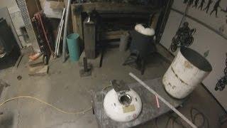 getlinkyoutube.com-How To Build A  Foundry For Smelting Aluminum part1 of 2