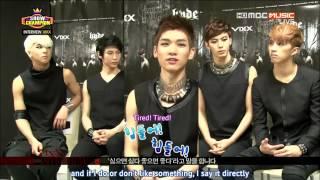 getlinkyoutube.com-[ENG] 130529 - Show Champion: VIXX Interview (+ Hyde Performance)