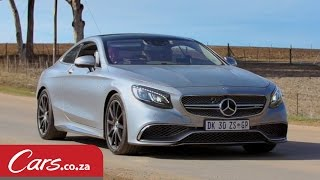 getlinkyoutube.com-The S 65 AMG Coupe Driven & Reviewed - SA's Most Expensive Mercedes Benz