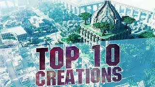 getlinkyoutube.com-MINECRAFT - TOP 10 BEST CREATIONS 2015 - Epic Cities and Buildings with Download