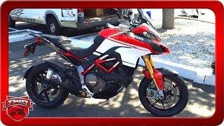 getlinkyoutube.com-2016 Ducati Multistrada 1200 S Pikes Peak Motorcycle Review