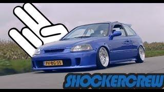 getlinkyoutube.com-SHOCKERCREW | EPB/FBP EK Hatch & VSM coupe STANCED/SLAMMED