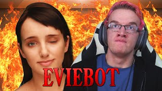 getlinkyoutube.com-SHE'S A SLUT!! - EvieBot Funny Moments
