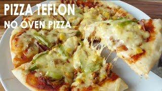 RESEP PIZZA TEFLON | NO OVEN PAN PIZZA RECIPE | Trivina Kitchen