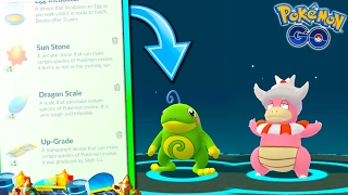 HOW TO GET/USE NEW EVOLUTION ITEMS IN POKEMON GO! + EVOLVING TO NEW GEN 2 POKEMON!