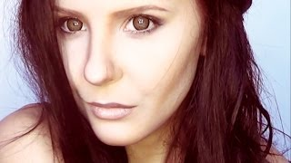 getlinkyoutube.com-Nina Dobrev the Vampire Diaries Elena make up tutorial by Anastasiya Shpagina