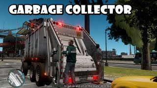 getlinkyoutube.com-GTA IV - Business Mod : Garbage Collector