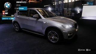 getlinkyoutube.com-The Crew Wild Run - BMW X6 M E71 Dirt Spec Customization + FDC Custom Rally Race  [March Update]