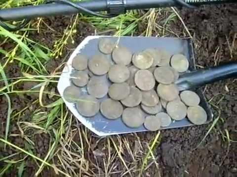 Клад монет Екатерины и Елизаветы
