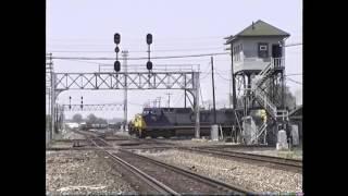getlinkyoutube.com-Trains Around Marion, Ohio 1990s (Conrail, CSX, NS)