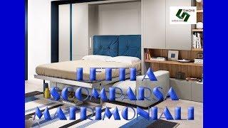 getlinkyoutube.com-LETTI A SCOMPARSA MATRIMONIALI | SIMONI ARREDA MILANO