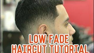 getlinkyoutube.com-How to do Low Drop Fade with Longer Hair on Top! Haircut Tutorial