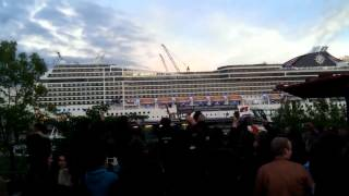 getlinkyoutube.com-Statek grał muzykę z piosenki Seven Nation Army !!! :)