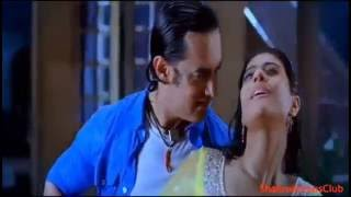 getlinkyoutube.com-Kajol Hot Sexy Kissing Scene Boobs Bouncing Rain Hot Scene Kajol Ajay Devgan Full Hot Sexy Scene