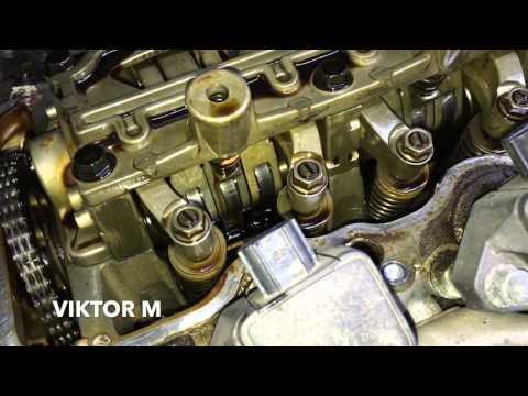 HONDA CR-V 3 2.0 Регулировка клапанов и тест промывки двигателя