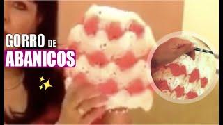 Gorro de Abánicos - Puntadas de gancho - Tejiendo con Laura Cepeda