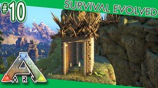 getlinkyoutube.com-ARK: Survival Evolved - PVP Tower Dino Pen!  S4E10