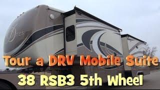 getlinkyoutube.com-FOR SALE DRV 38 RSB3 5th Wheel Coach Trailer Tour