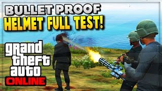 getlinkyoutube.com-GTA 5 Online - NEW DLC Weapons & Bullet Proof Helmet Advanced Test (GTA V Gameplay)