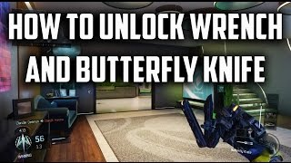 getlinkyoutube.com-How to Unlock Wrench and Butterfly Knife Black Ops 3 (Gameplay Video) *PATCHED