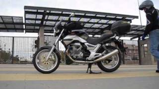 getlinkyoutube.com-Sound of Moto Guzzi Breva 750 with Lafranconi exhaust