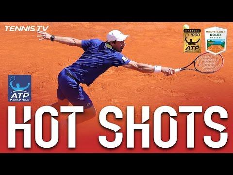Hot Shot: Cuevas Hits Unreturnable Backspin Volley In Monte-Carlo