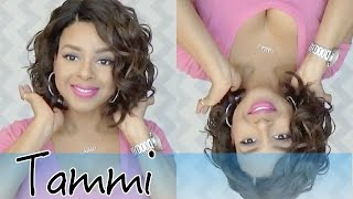 getlinkyoutube.com-Freetress Equal Deep Lace L Part Lace Front Wig TAMMI