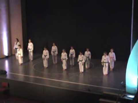 Kartei der Not Gala 2013 in Kissing - Hanmudo, Taekwondo & Hapkido Demoteam Kissing